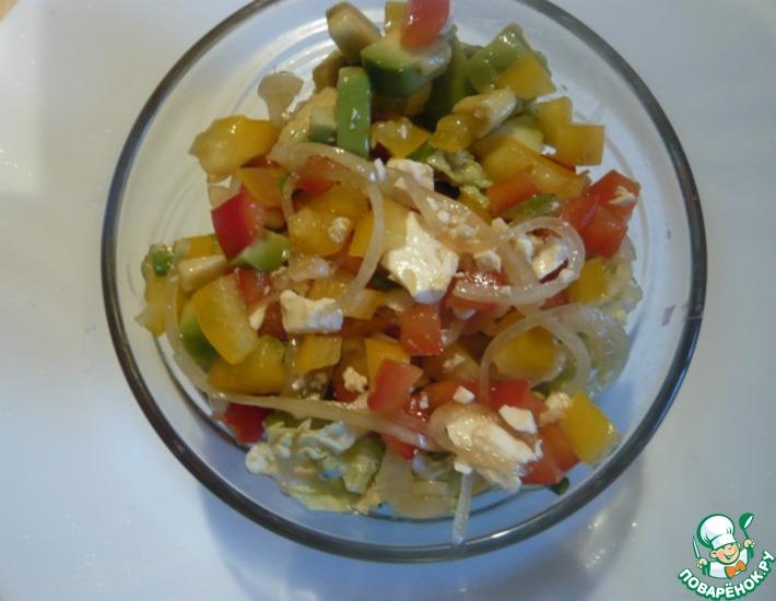 Рецепт: Салат с авокадо