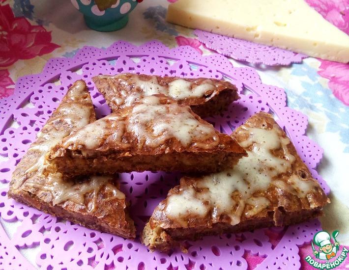 Рецепт: Пирог из чечевицы с сыром