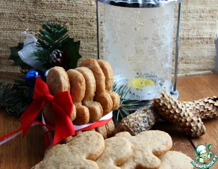 Бельгийское печенье со специями