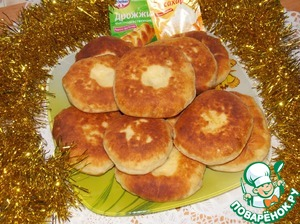 Tortillas with cheese and cranberries