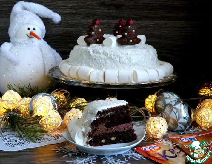 Рецепт: Шоколадный торт «Старый Новый год»