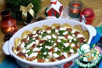 Рецепт: Фрикадельки с овощами и сыром