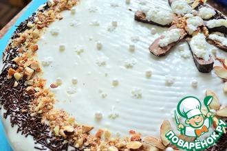 Рецепт: Ванильно-медовый торт