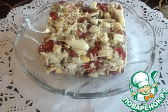 Рецепт: Гранатовый салат