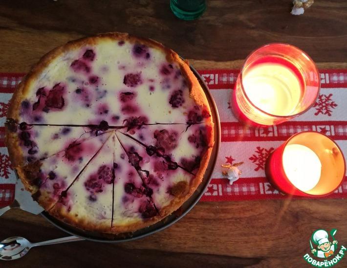 Рецепт: Сметанно-ягодный тарт