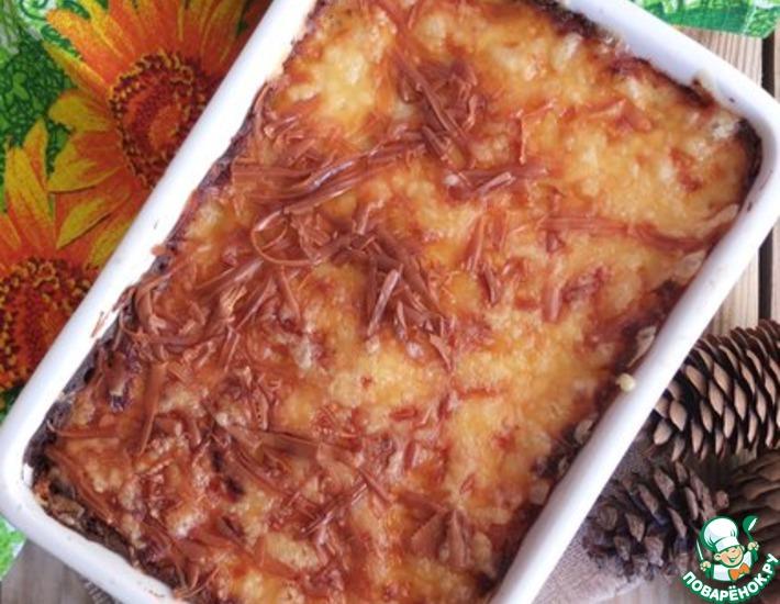 Рецепт: Картофельная запеканка с соусом Бешамель