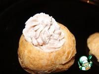 Закусочные пирожные с пикантным кремом ингредиенты