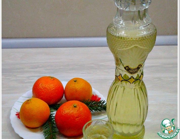 Рецепт: Настойка лимонная Скороспелая