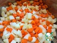 Здоровый салат Оливье с аутентичной заправкой ингредиенты