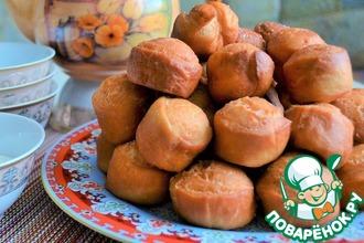 Рецепт: Пончики а-ля Баурсаки