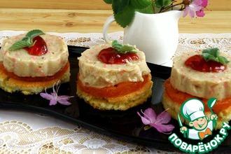 Рецепт: Пирожные «Тропикана»