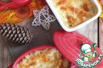 Рецепт: Макароны с сыром