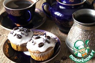 Рецепт: Кекс с рикоттой и кофе