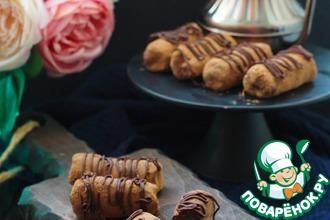 Рецепт: Пирожное «Картошка» с шоколадно-сливочным кремом