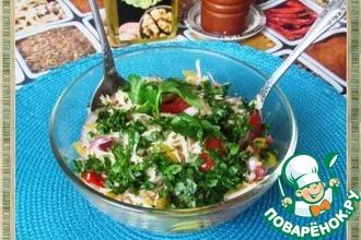 Рецепт: Овощной салат Популярный
