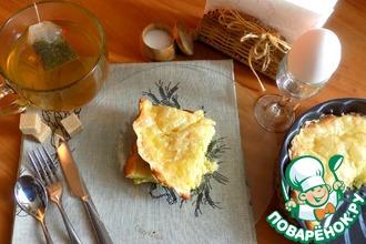 Рецепт: Кабачковая запеканка на сметане с сыром