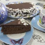 Шоколадный пирог Зимний вечер