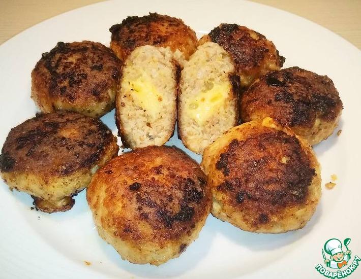 Рецепт: Котлеты с сыром