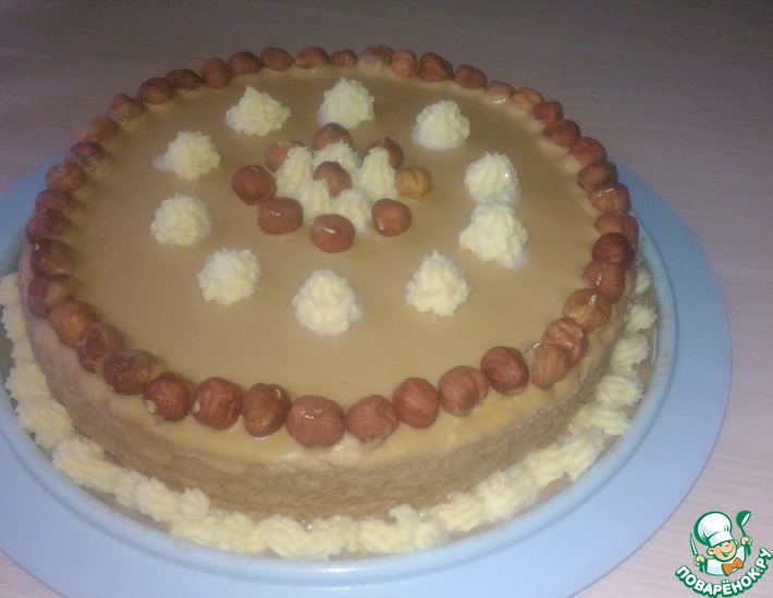 Рецепт: Торт песочный Вальс