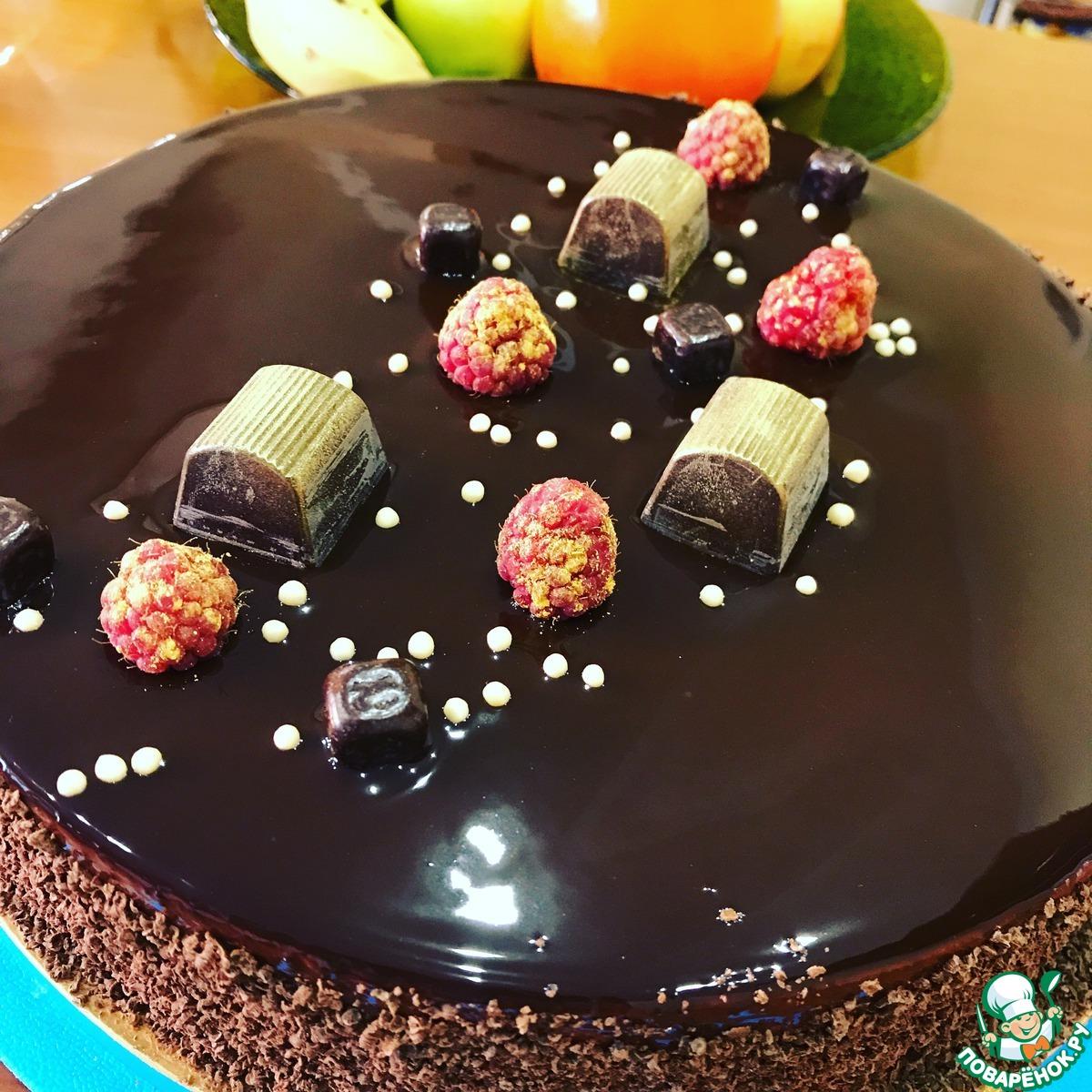 """Торт """"Малиновый шоколад"""""""