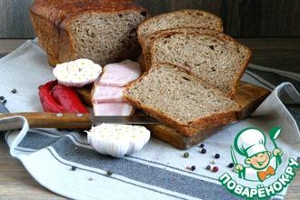 Рецепт: Хлеб ароматный с отрубями