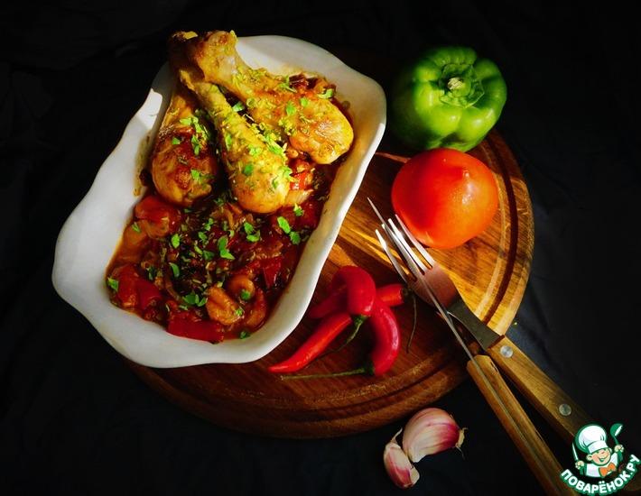 Рецепт: Куриные голени Чилиндрон