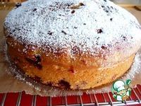 Пирог с красной и черной смородиной ингредиенты