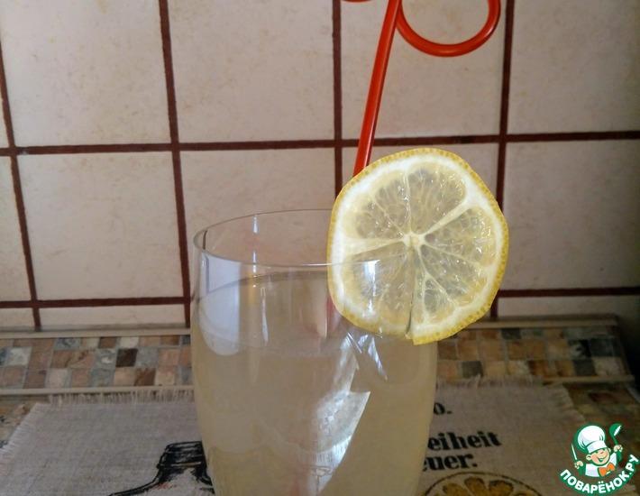 Рецепт: Домашний лимонад с имбирём