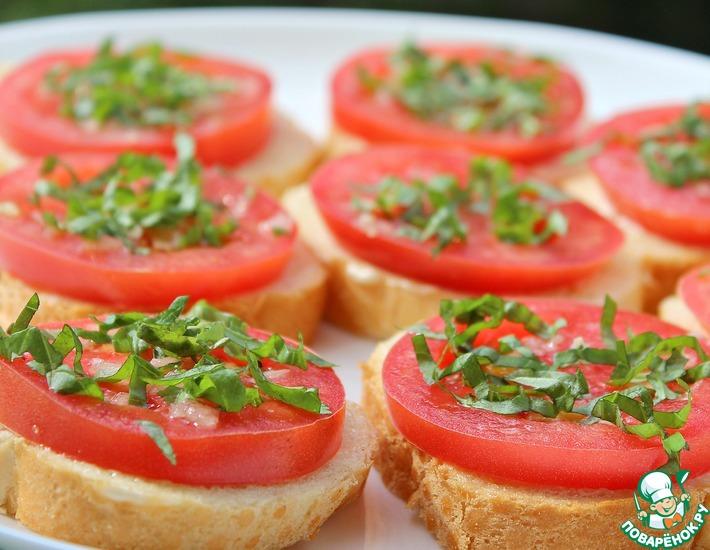 Необычные рецепты помидоров