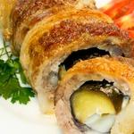 Баклажаны в духовке с мясом