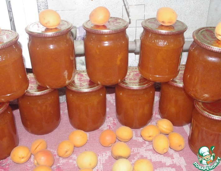 Рецепт: Варенье из абрикосов на зиму
