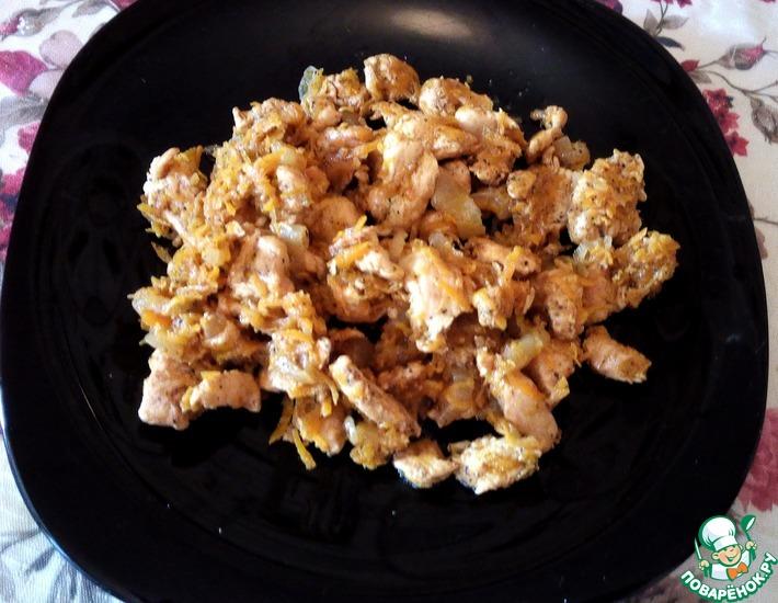 Рецепт: Куриное филе по мотивам хе