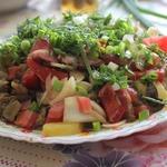 Пикантный картофельный салат