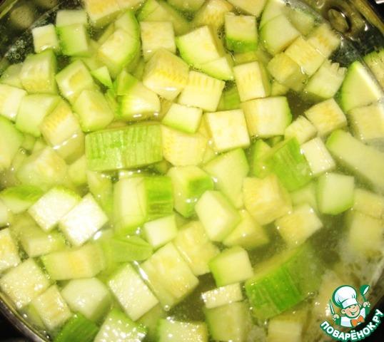 рецепт кабачковый суп пюре