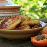 Сырники с абрикосами