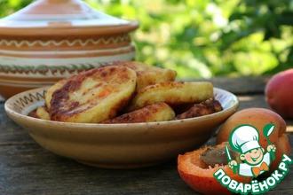 Рецепт: Сырники с абрикосами