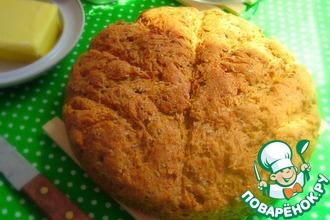 Рецепт: Гороховый хлеб с семенами льна