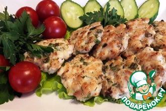 Рецепт: Котлеты из курицы с зеленью
