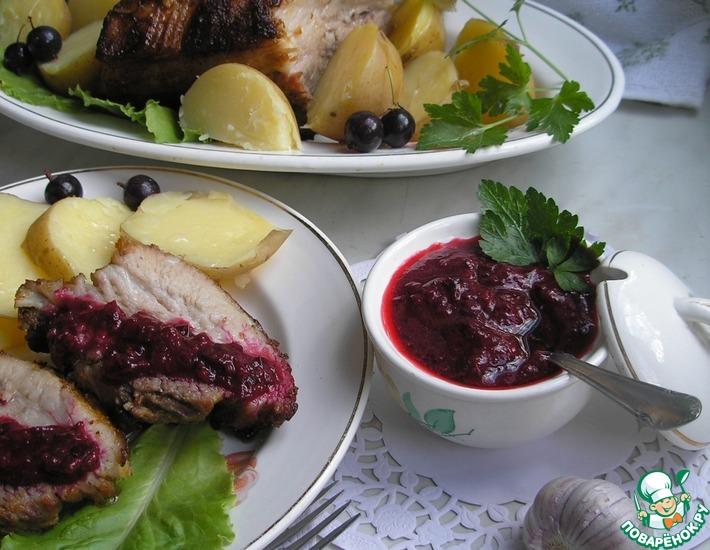 Рецепт: Соус из крыжовника к любому мясу