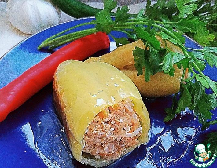 Рецепт: Фаршированный перец Мечта