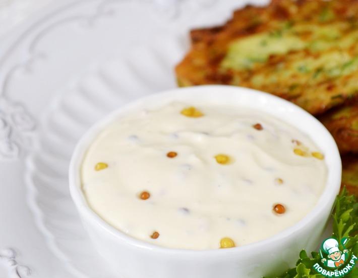 Рецепт: Сметанный соус с горчицей