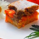 Абрикосовый пирог с маком и яичным ликером