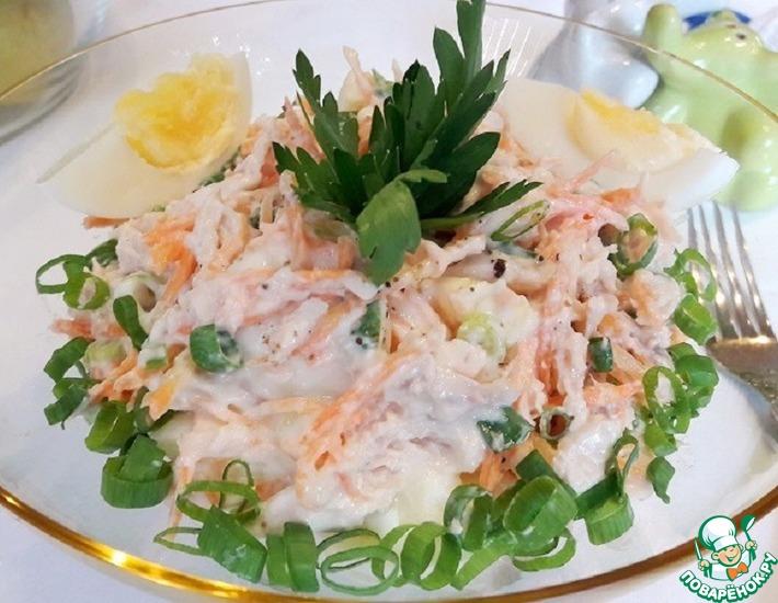 Рецепт: Салат из птицы