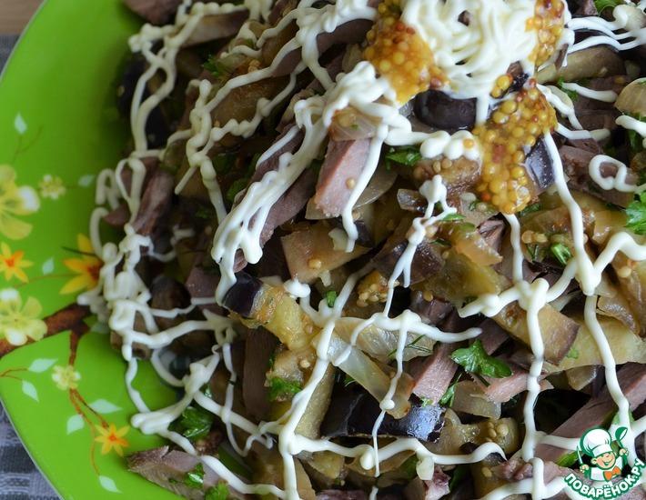 Рецепт: Салат Муравьиная горка