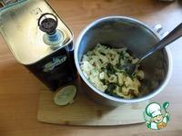 Паста с мангольдом и пармезаном ингредиенты