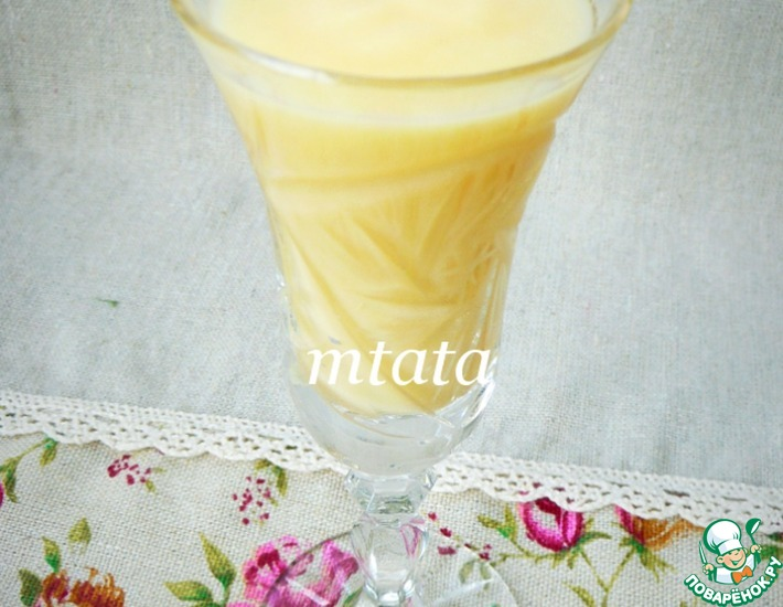Рецепт: Домашний яичный ликер