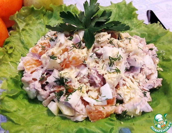 Рецепт: Салат На праздник