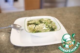 Рецепт: Закарпатский борщ со щавелем и шпинатом