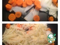 Нежный жареный картофель с овощами ингредиенты