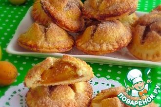 Рецепт: Печенье с абрикосами